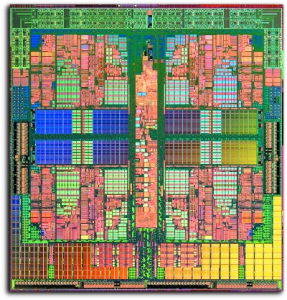 Phenom X4 Prozessor Die-Shot