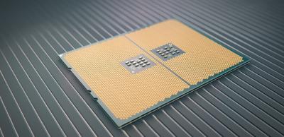 AMD EPYC Socket Rendering