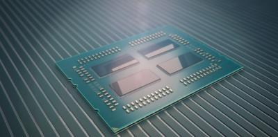 AMD EPYC Vorderseite DIE Rendering