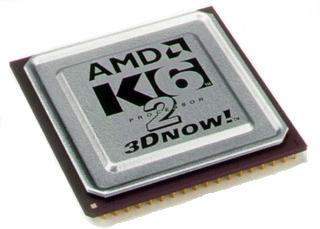 AMD K6-2 3Dnow! Prozessor