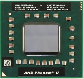 AMD Phenom II X4 X920 Black Edition Mobile-Processor