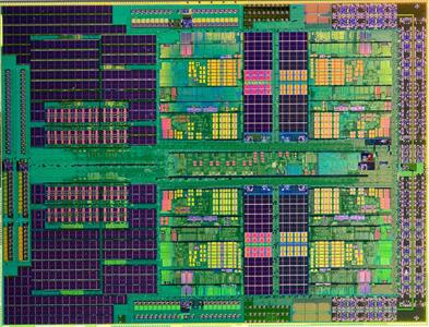 AMD Phenom II X3 Processor Die-Shot