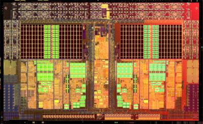 AMD Athlon II X2 Prozessor Die-Shot