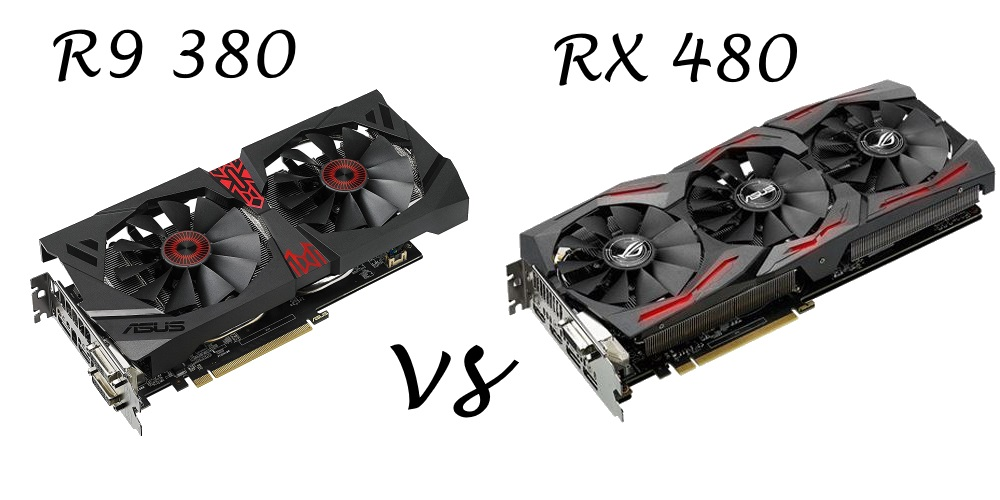 Hero ImageASUS ROG STRIX RX480 vs. ASUS STRIX R9 380