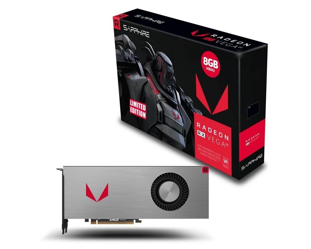 SAPPHIRE Radeon RX VEGA 64 Limited Editon