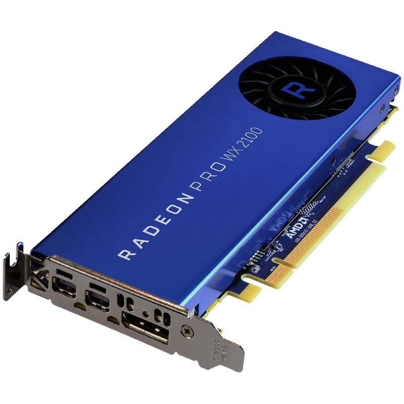 AMD Radeon Pro WX 2100 Grafikkarte