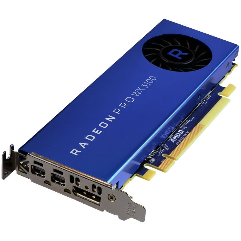 AMD Radeon Pro WX 3100 Grafikkarte