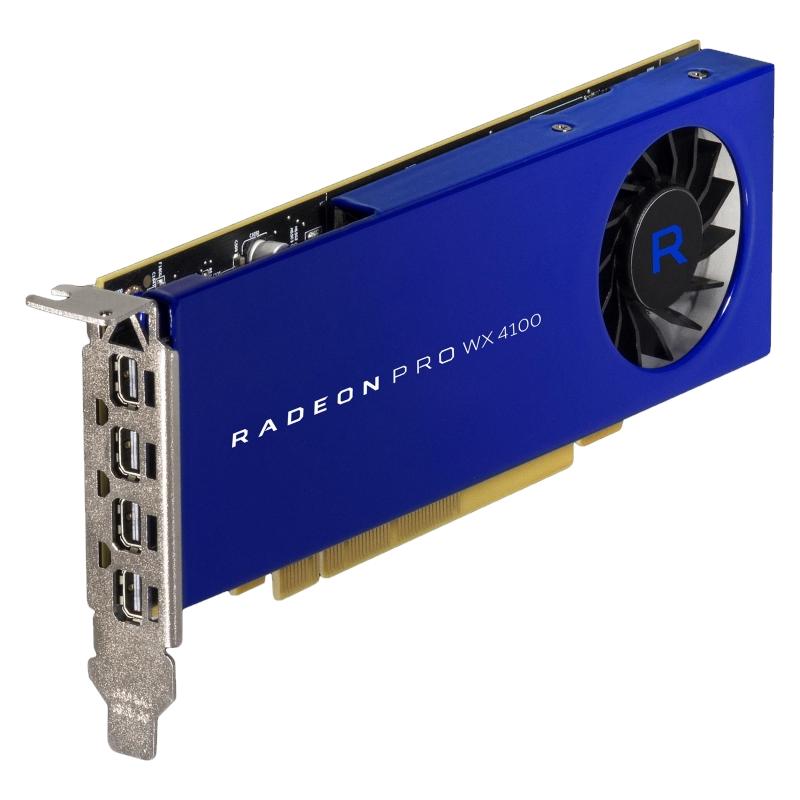 AMD Radeon Pro WX 4100 Grafikkarte
