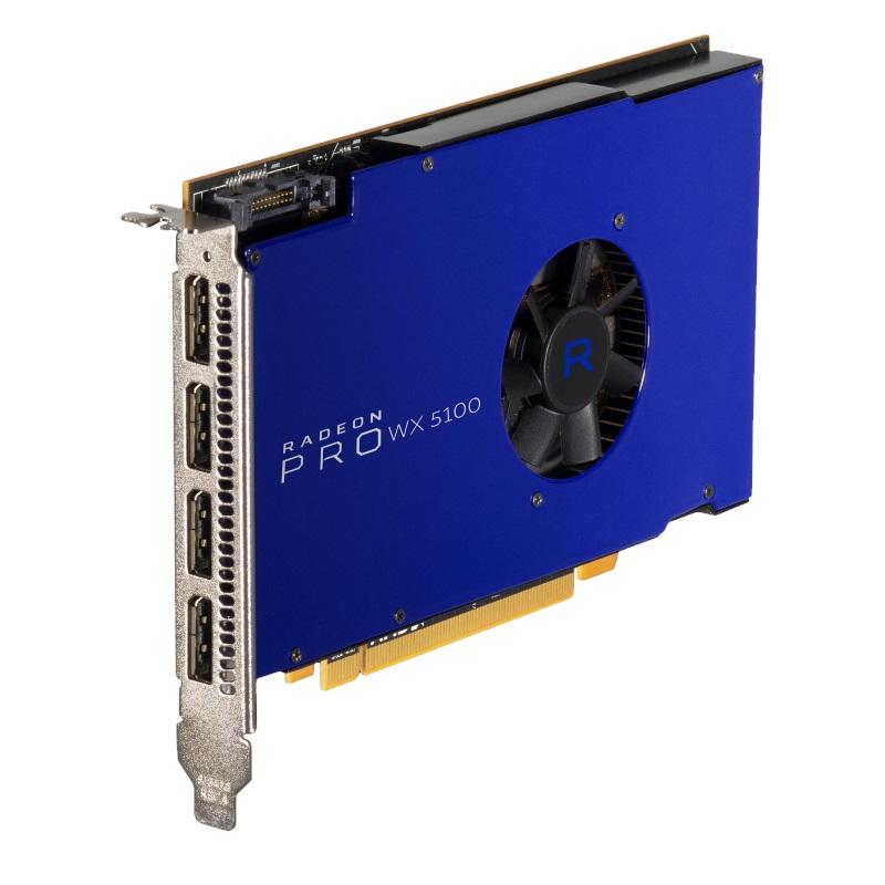 AMD Radeon Pro WX 5100 Grafikkarte