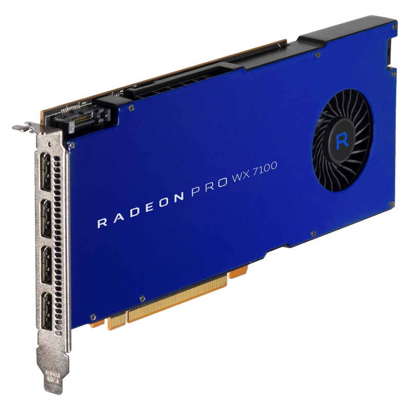 AMD Radeon Pro WX 7100 Grafikkarte